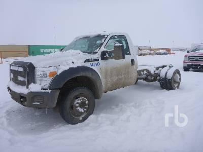 2011 FORD F550 XL 4x4 Cab & Chassis