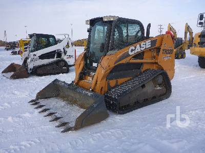 2011 CASE TR320 2 Spd Compact Track Loader