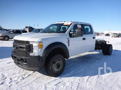 2017 FORD F550 XL Crew Cab 4x4 Cab & Chassis
