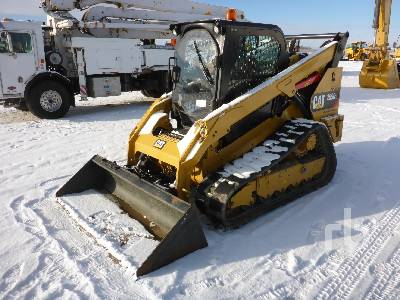 2018 CATERPILLAR 299D2 2 Spd Compact Track Loader