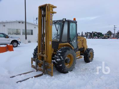 2012 HARLO HP8500 4x4 Rough Terrain Forklift