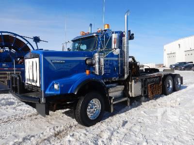 2014 KENWORTH C500 T/A Winch Tractor