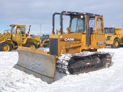 1998 CASE 850G Crawler Tractor