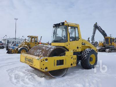2012 BOMAG BW213DH-40 Vibratory Roller