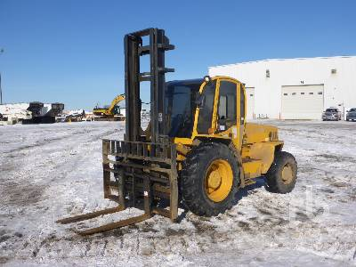 2013 SELLICK S80 4x4 Rough Terrain Forklift