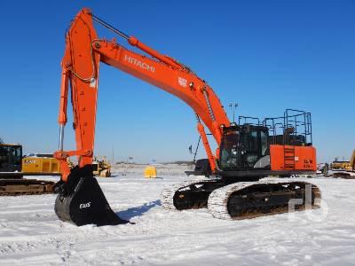 2017 HITACHI ZX470LC-5B VG Hydraulic Excavator