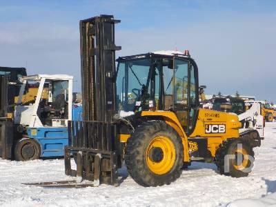 2012 JCB 940 4x4 Rough Terrain Forklift