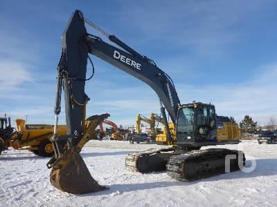 2011 JOHN DEERE 290G LC Hydraulic Excavator