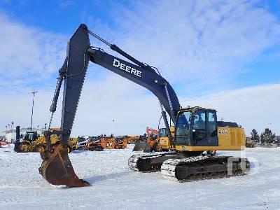 2007 JOHN DEERE 240D LC Hydraulic Excavator
