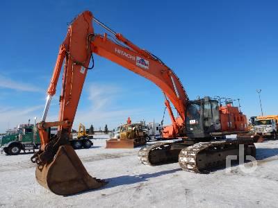 2008 HITACHI ZX450LC-3 Hydraulic Excavator