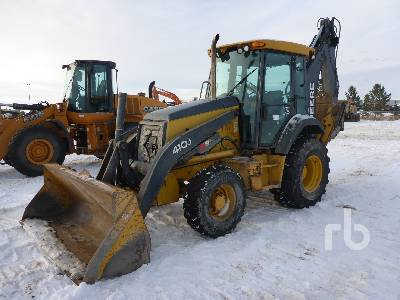 2010 JOHN DEERE 410J 4x4 Loader Backhoe