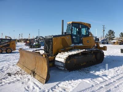 2008 JOHN DEERE 850J LGP Crawler Tractor