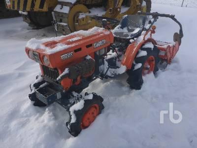 KUBOTA B5001DT 4WD Utility Tractor
