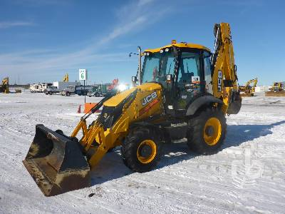 2013 JCB 3CX 4x4 Loader Backhoe