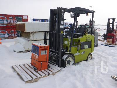 2015 CLARK ECX25 Electric Forklift