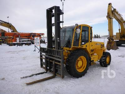 2012 SELLICK S80J3-4 4x4 Rough Terrain Forklift