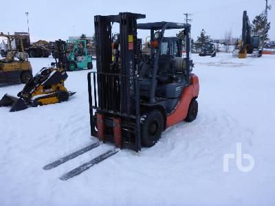 2012 TOYOTA 8FGU25 Forklift