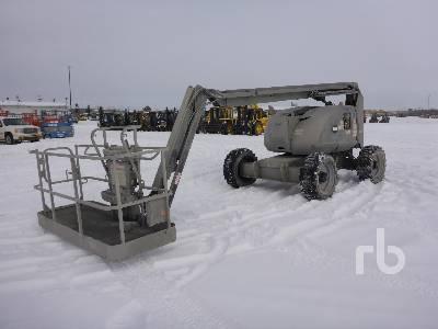 2008 JLG 600AJ 4x4 Articulated Boom Lift