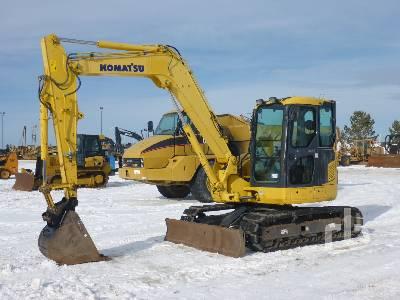 2011 KOMATSU PC88MR-8 Midi Excavator (5 - 9.9 Tons)