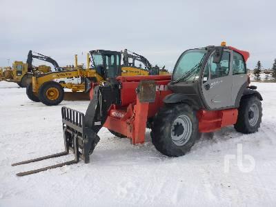 2013 MANITOU MT1440 4x4x4 Telescopic Forklift