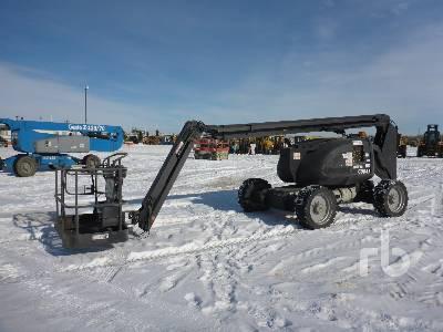 2007 JLG 600AJ 4x4 Articulated Boom Lift