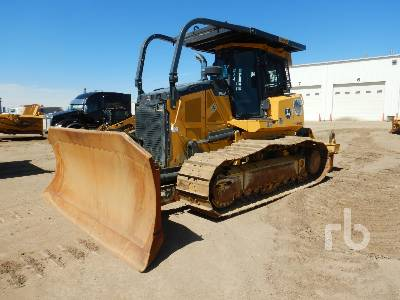 2015 JOHN DEERE 850K WLT Crawler Tractor