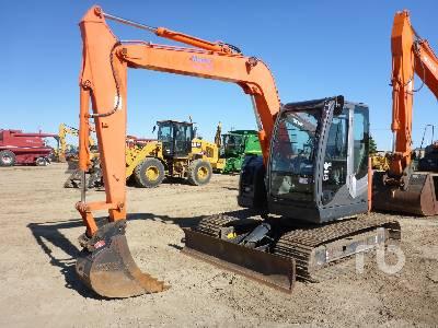 2011 HITACHI ZX75US-3 Midi Excavator (5 - 9.9 Tons)