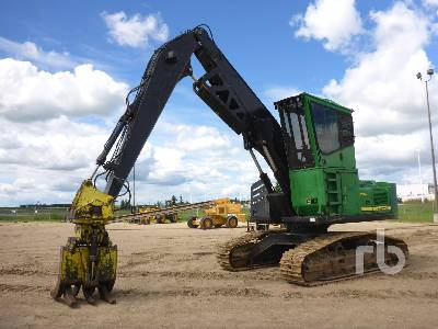 2007 JOHN DEERE 2054 Log Loader
