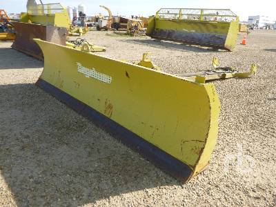 DEGELMAN 12 - 46 / 57 Q/C 12 Ft Hydraulic Snow Tractor Dozer