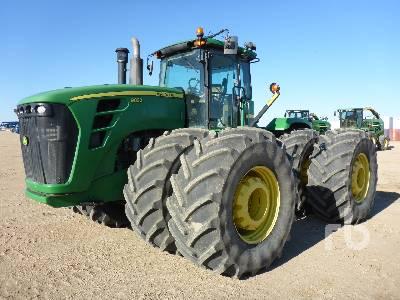 2009 JOHN DEERE 9630 4WD Tractor