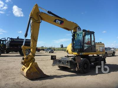 2009 CATERPILLAR M315D 4x4 Mobile Excavator