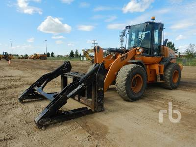 2014 CASE 721F Wheel Loader