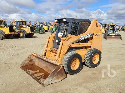 2002 CASE 85XT Skid Steer Loader