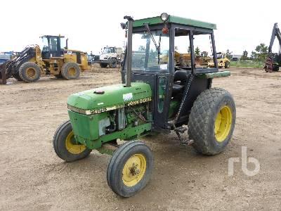 JOHN DEERE 2155 2WD Utility Tractor