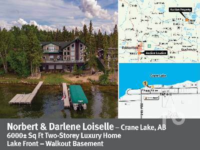 AB/MD OF BONNYVILLE 54 MOORE DRIVE 6000 +/- Sq Ft Home