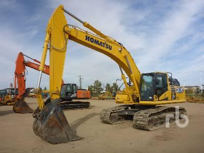 2018 KOMATSU HB365LC-3 Hybrid Hydraulic Excavator