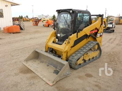 2015 CATERPILLAR 259D LRC 2 Spd High Flow Compact Track Loader