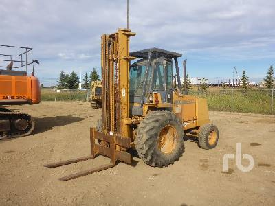 1997 CASE 586E 4x4 Rough Terrain Forklift