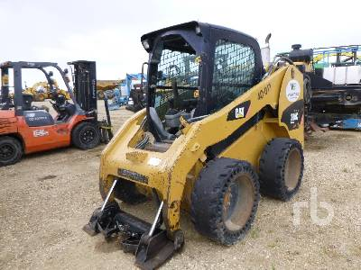 2008 CATERPILLAR 256C Skid Steer Loader Parts/Stationary Construction-Other