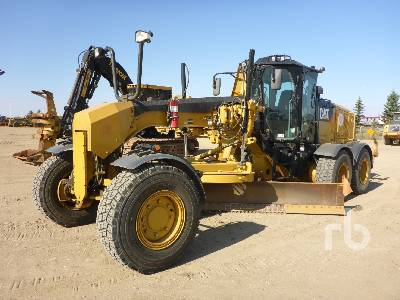 2014 CATERPILLAR 160M2 AWD VHP Plus Motor Grader