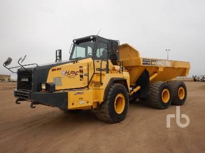 2011 KOMATSU HM300-2 6x6 Articulated Dump Truck