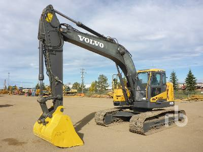 2014 VOLVO ECR235DL Hydraulic Excavator