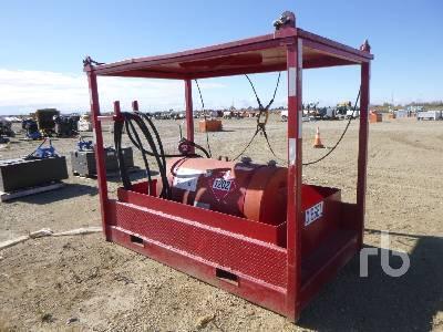 761 Litre Skid Mtd Fuel Tank