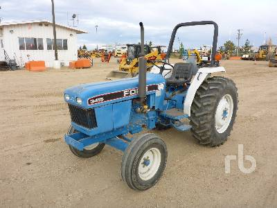 1993 FORD 3415 2WD Utility Tractor