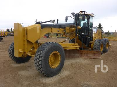 2012 CATERPILLAR 14M VHP Plus Motor Grader