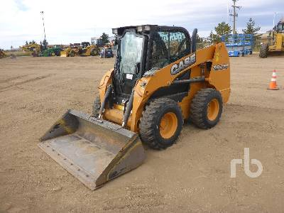 2014 CASE SR220 2 Spd Skid Steer Loader