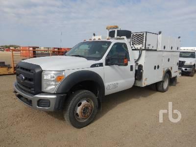 2015 FORD F550 XL 4x4 Utility Truck