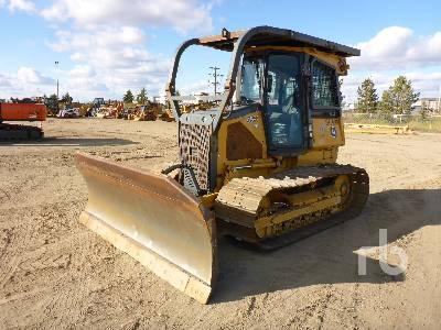2008 JOHN DEERE 650J LGP Crawler Tractor