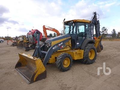 2012 JOHN DEERE 410J 4x4 Loader Backhoe