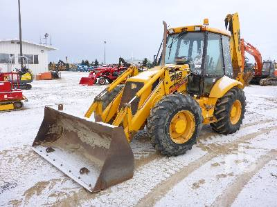 2001 JCB 214S Series 3 4x4 Loader Backhoe